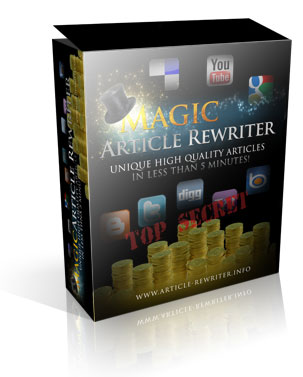 Magic Article Rewriter